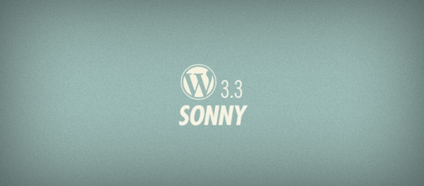 wordpress-3.3-sonny
